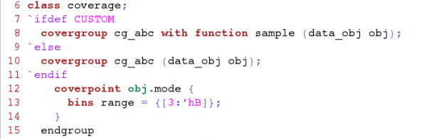 Using a custom sample function for functional coverage